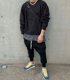 Wear 😍 or Tear 🤮? Rate This Outfit from 0 to Men Street, Street Wear, Air Max 97 Outfit, Fashion Tv, Mens Fashion, Rock Star Outfit, Sean Wotherspoon, Mens Yeezy, Cute Teenage Boys