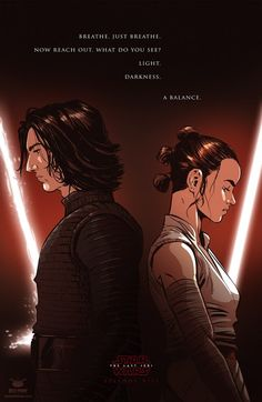 Kylo Ren & Rey | Star Wars