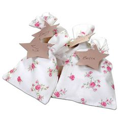 Mini Floral Party Gift Bags