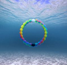 The new neon Lokai bracelet! Lokai will give $1 for every bracelet to a foundation to help make a wish happen for a person with a severe disease.