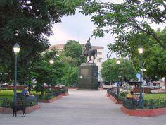 Plaza Bolívar de Cagua