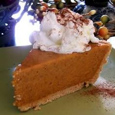 Not sure about this but just in case.Need a Pumpkin pie quick? This is your best bet. No Bake Pumpkin Pie No Bake Pumpkin Pie, Pumpkin Pie Recipes, Baked Pumpkin, Pumpkin Puree, Pumpkin Custard, Pumpkin Pudding, No Bake Desserts, Just Desserts, Dessert Recipes