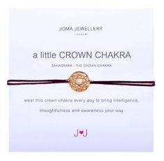 Joma Jewellery 'A Little Crown Chakra' Bracelet £11.99 at Macmillans of Penwortham www.facebook.com/MacmillansofPenwortham
