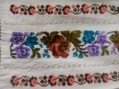 Cross Stitch, Album, Embroidery, Ornaments, Illustration, Floral, Knit Flowers, Punto De Cruz, Dots