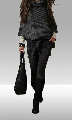 pantaloncini in inverno
