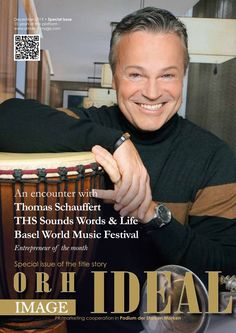 Thomas Schauffert - THS Sounds Words & Life, Basel World Music Basel, Sound Words, World Music, Marketing, 15 Years, Musicals, English, Reading, Cover