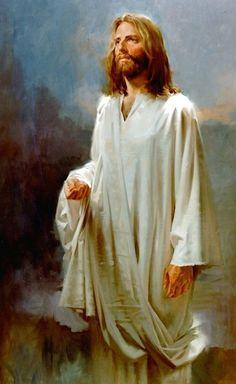 Images Du Christ, Pictures Of Jesus Christ, Religious Pictures, Religious Art, Image Jesus, Jesus E Maria, Lds Art, Jesus Christus, Saint Esprit