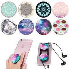 New Fashion phone holder Expanding Stand Pop Socket Mount for iPhone Tablet mobile Universal holder Desk For Xiaomi PopSocket