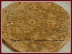 bread with oat flour | ... and Method to make Oat Barley Wheat Roti (Indian Flat Bread