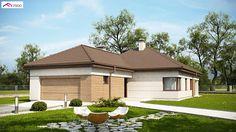 Z195 GF2 to wyjątkowy dom z kategorii projekty domów jednorodzinnych
