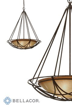 The Feiss El Nido three light uplight chandelier in mocha bronze is the perfect way to achieve your desired fashion or functional needs in your home.