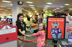 Emmy had so much fun and we had The Easiest Birthday Party Ever At Chuck E. Cheese's! #ad