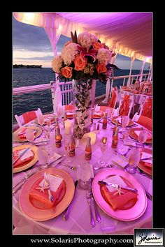A beautiful table setting at The Westin in Key West