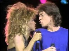 Mick Jagger & Tina Turner  It's Only Rock 'n Roll (But I Like It) Philad...