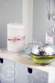 Moja romantyczna toaletka (duuuużo zdjęć) / Hemnes, Ikea