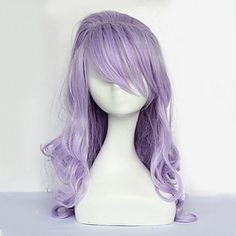 Countess Cosplay Wig|Lavender 70cm Cosplay Wig |Classic Lolita Cosplay Wig|Countess Lavender 70cm Classic Lolita Cosplay Wig