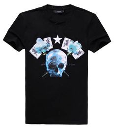 2013 Givenchy Skeleton T-shirt Men Black Online