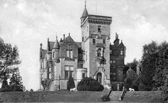 Tour Scotland Photographs: Old Photograph Glenmoyne House Galashiels Scotland