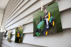 Tractor Themed Second Birthday — The Green Robe