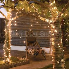 Description: Bring a touch of cozy and romantic ambience to your home by simply adding a few strings of Solar-Powered LED Fairy Lights! They do not require any wiring and cost nothing to stay lit. Main Features: Money saving, powered by sunlight, no outlet needed Waterproof Great garden decor, bright and eye-catching lights, decorate anywhere without dangerous extension cord 8 flashing modes, you can create the exact ambience you want! Available in 100 and 200 LED version Instructions: Solar pow Lantern With Fairy Lights, Solar Fairy Lights, Solar Powered Led Lights, Outdoor Fairy Lights, Outdoor Lighting, Outdoor Decor, Net Lights, Led String Lights, Solar Panel Cost