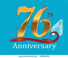 76th golden anniversary logo with white indonesia shadow puppet ornament
