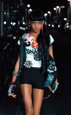 Willow Smith par Karl Lagerfeld pour V Magazine