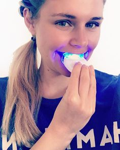 """For those who asked me what I did on snapchat I finished my teeth whitening session with @smilesciences testing kit with bubble gum flavour. I can just give positive feedback and  haven't experienced any pain or sensitivity to the gel so far. The kit is FDA registered and 100% cruelty-free (no animal testing!) If you like to try it as well you can get the kit just for for $29 with the code """"vanillacrunnch"""". I recommend it  by vanillacrunnch"""