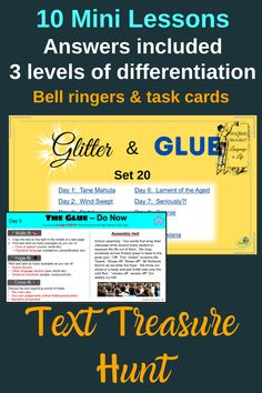 Student find annotate texts to show what they found in a range of 10 short texts. They are encouraged to look for sentence structures, sound devices, figurative language, language techniques and more. More able students are encouraged to discuss key ideas, purpose, narrative perspective. Excellent for building confidence in the close reading of unfamiliar texts. Differentiated and answers included. Suitable for years 9-13 (grades 8-12). Literacy Strategies, Bell Ringers, Narrative Writing, Figurative Language, Close Reading, Reading Skills, High School Students, Learning Resources, Critical Thinking