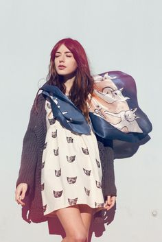 Image of Picasso Cats Scarf