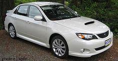 I love this white! 2008 Subaru WRX... pearly white!