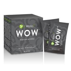 HAPPY N HEALTHY MY IT WORKS: WOW™ WIPES OUT YOUR WRINKLES