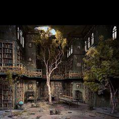 Library garden delight