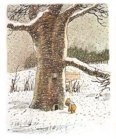 Pooh Corner, A.A. Milne, illustration by E.H. Shepard