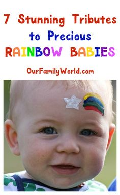 "Have you heard the term ""rainbow babies"" before? They're the light after a…"