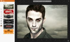 PicMonkey, the online image editor, has just released a variety Halloween effects you can apply to your photos. Wish you looked like a Twilight cast member? Here's your chance.