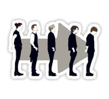 One Direction Sticker Arte One Direction, One Direction Collage, One Direction Drawings, One Direction Lockscreen, One Direction Harry Styles, One Direction Wallpaper, One Direction Quotes, One Direction Pictures, Tumblr Stickers