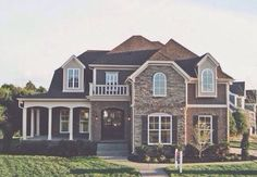 I love the wrap around porch and double doors at the front. I love the wrap around porch and double doors at the front. was last modified: January Dreamhouse Barbie, Suburban House, Barbie Dream House, House Goals, My Dream Home, Dream Homes, Dream Home Plans, Dream Mansion, Exterior Design