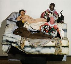 I Like Olympia in Black Face (1970)  Larry Rivers.