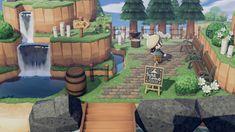 Animal Crossing Guide, Animal Crossing Villagers, Animal Crossing Qr Codes Clothes, Animal Crossing Pocket Camp, Anime Animals, Cute Animals, Entrance Design, Entrance Ideas, Ac New Leaf