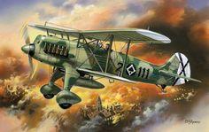 Heinkel He 51B-1 Condor Legion SCW