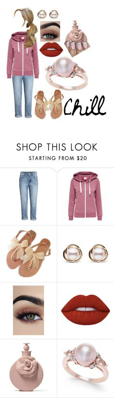 """""""Untitled #362"""" by lil1daffodil2baby3girl4 ❤ liked on Polyvore featuring H&M, Trilogy and Lime Crime"""