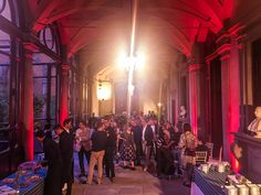 Uplighting enhancement, business event in Florence, Tuscany