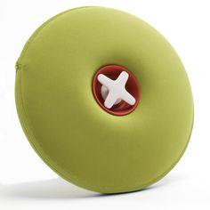 Authentics - Pill hot water bottle, lime green