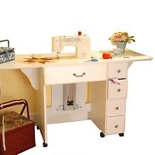 Arrow Auntie Em Sewing Table - White