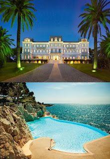 Most Beautiful Hotel Pools |Hôtel Du Cap-Eden-Roc - Cap D'antibes, France