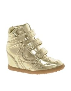Trend to Try: Wedge Sneakers