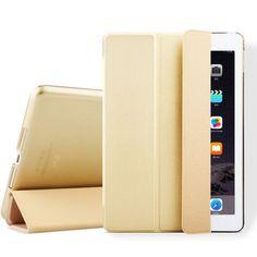 For iPad mini 1 2 3 ,ZVRUA YiPPee Color PU Smart Cover Case Magnet wake up sleep For apple iPad mini1 mini2 mini3