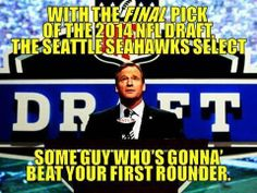 Who will the Seahawks draft this year? www.footballfanHQ.com
