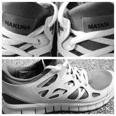 Hakuna Matata! Nike. Tennis Shoes :)
