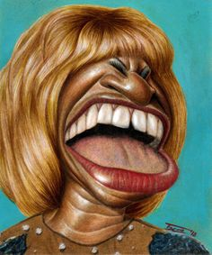 Singer CELIA  CRUZ illustrated by Walter Toscano